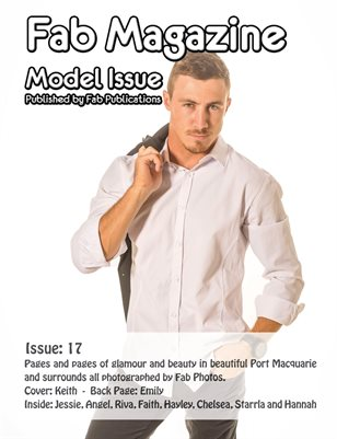 Fab Magazine Model Issue 17