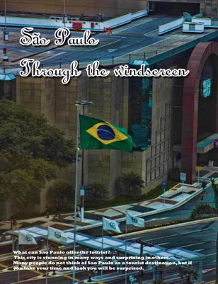 São Paulo Brazil Through The Windscreen