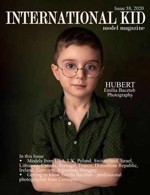 International Kid Model Magazine Issue #58