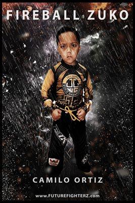 Camilo Ortiz Storm Poster