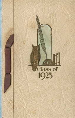 Senior Class of 1925 Kirksey High School Invitation