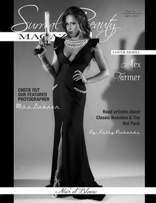 Surreal Beauty Magazine Noir et Blanc Issue
