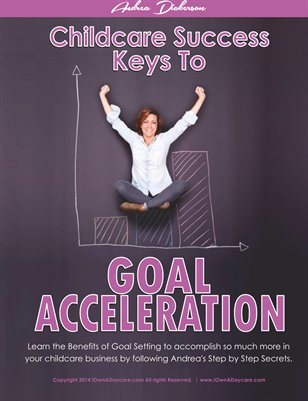 Childcare Success Keys to Goal Acceleration