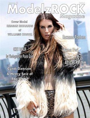 ModelzROCK Magazine 2016 Issue III COVER 1