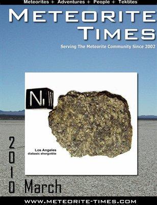 Meteorite Times Magazine - March 2010