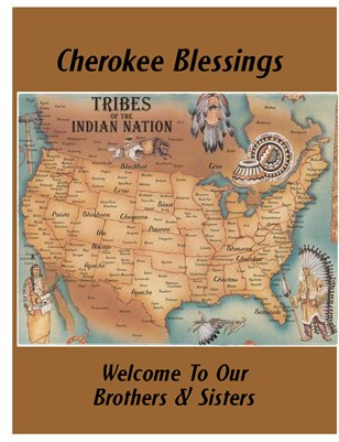 Cherokee Blessings Aug. 2012
