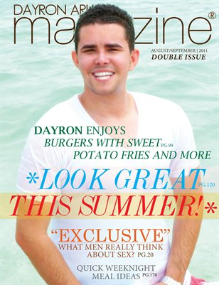 Dayron Arias Magazine - Summer 2011