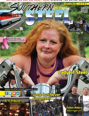 Southern Steel Motorcycle & Car Magazine October 2014