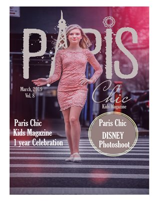 Paris chic kids magazine march 5