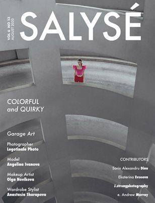 SALYSÉ Magazine | Vol 6 No 13 | AUGUST 2020 |