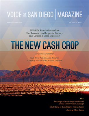 Voice of San Diego Magazine | Fall 2015