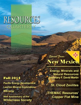 Resources Quarterly - Fall 2014