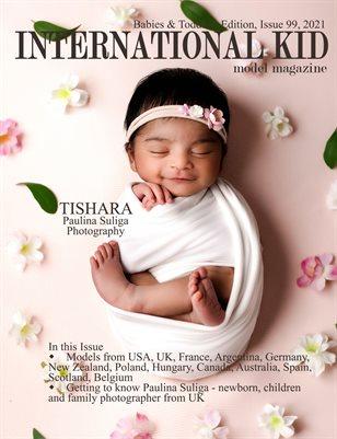 International Kid Model Magazine Issue 99, Babies & Toddlers