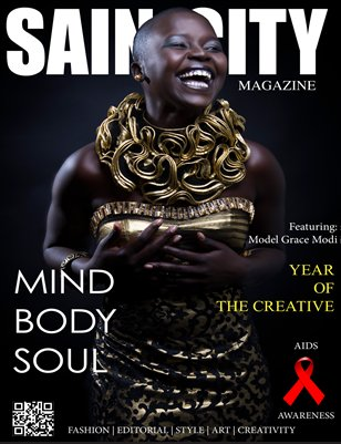 Sain-City Magazine Issue 8 Cover 2