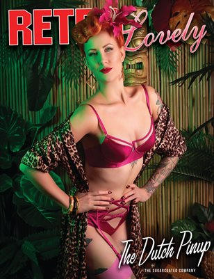 Retro Lovely No.91 - The Dutch Pinup Cover
