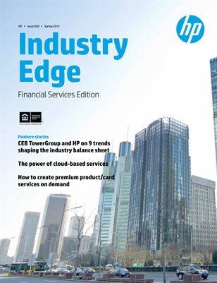 HP Industry Edge: Financial Services edition