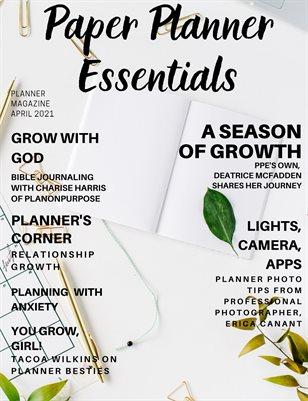Paper Planner Essentials April 2021