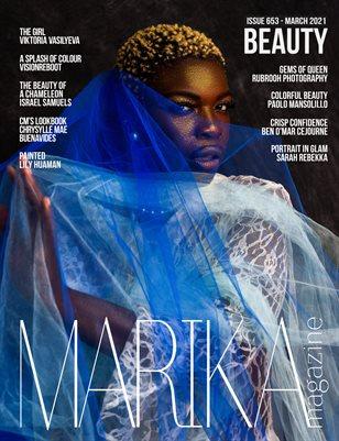 MARIKA MAGAZINE BEAUTY (ISSUE 653 - MARCH)