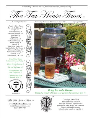 The Tea House Times July/Aug 2013 Issue