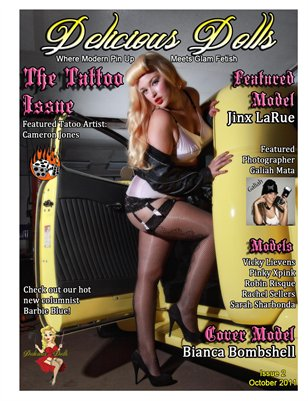 Delicious Dolls Issue #2 - The Tattoo Issue - Cover Bianca Bombshell