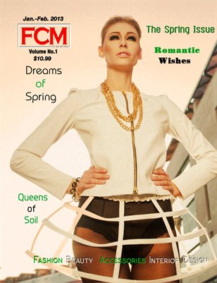 "Fashion Couture Magazine ""Spring Issue"" Vol. 1 Issue 5"