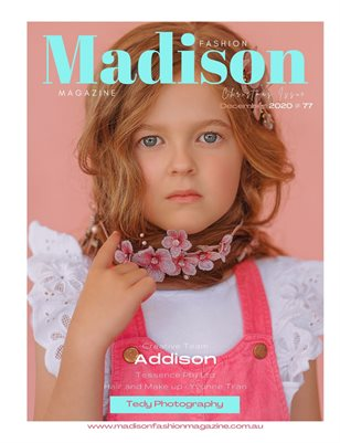 Madison Fashion Magazine - December 2020 - Christmas Issue #77