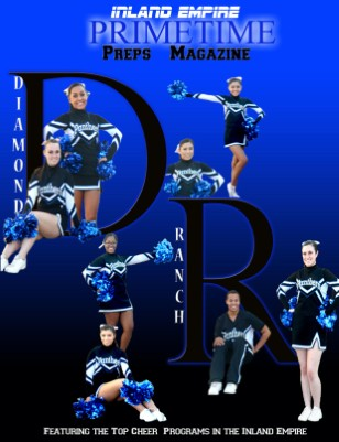 Inland Empire Prime Time Preps Magazine Diamond Ranch Cheer Edition April 2012