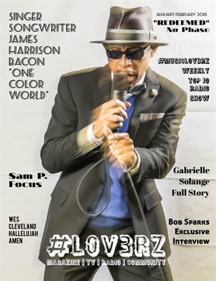 James Harrison Bacon Featured Cover Artist - #LOV3RZ January