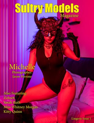 Sultry Models Magazine Lingerie Issue 1