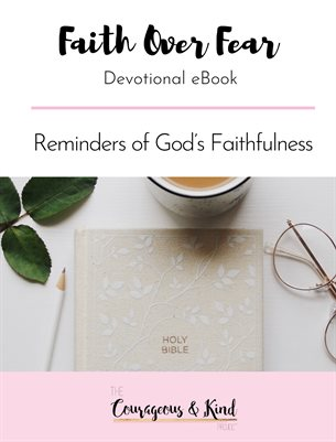 C&K Faith over Fear Devotional eBook