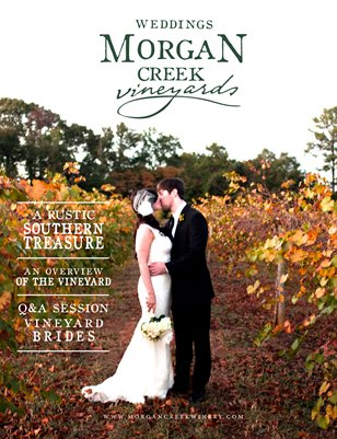 Weddings at Morgan Creek Vineyards