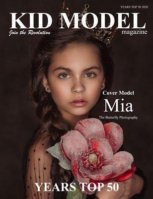 Kid Model Magazine Years Top 50 2020