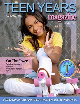 Sept 2021 - Studios L-Z - Teen Years Magazine