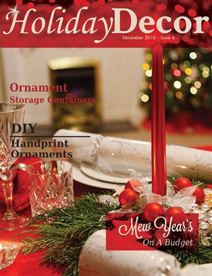 Holiday Decor Magazine - December 2016