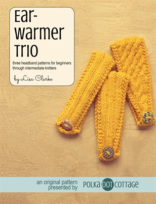 Earwarmer Trio Knitting Patterns