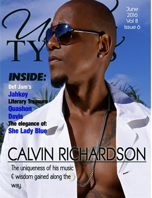 June 2016 Issue Featuring Calvin Richardson