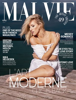 MALVIE Mag The Artist Edition Vol 49 November 2020