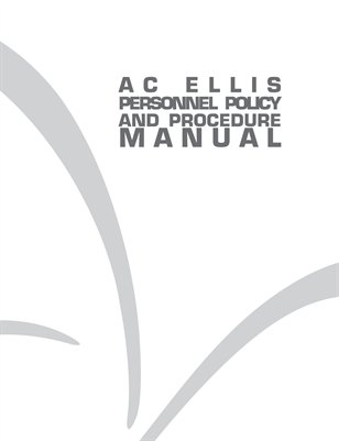 AC Ellis Personnel Manual