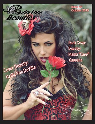 Baba Lous Beauties-Anything Pin Up Issue 30: October 2015