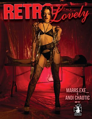 Retro Lovely No.36 - Marrs.exe_ and Andi Chaotic Cover