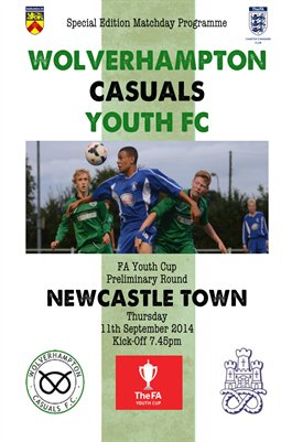 Wolverhampton Casuals Youth v Newcastle Town Youth