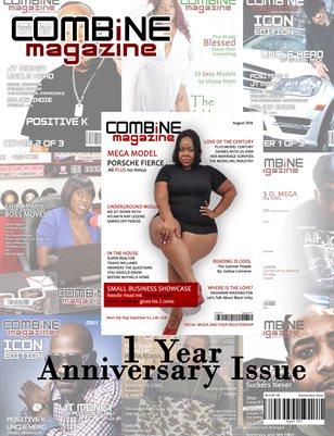 COMBiNE Magazine Anniversary Issue