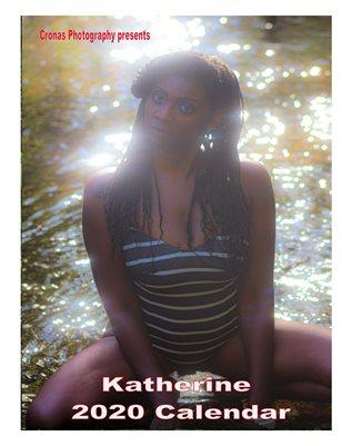 2020 Katherine calendar