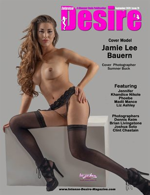 INTENSE DESIRE MAGAZINE - Cover Model Jamie Lee Bauern - September 2020