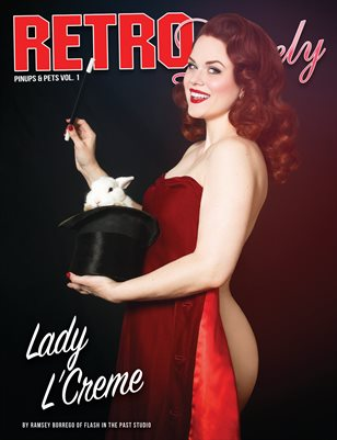Pinups and Pets Volume No.1 – Lady L'Creme Cover