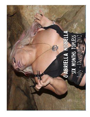 New Gabriella Nobella Topless Calendar  July - December 2021