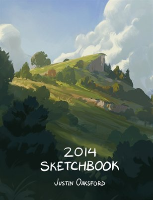 Justin Oaksford 2014 Sketchbook
