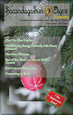 2012 December Sacandaga Sun Complimentary