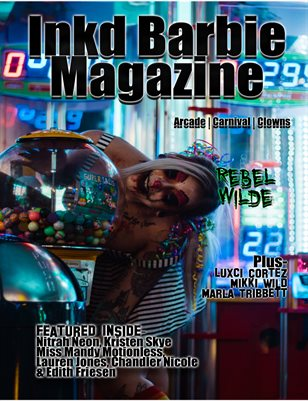Inkd Barbie Magazine - Wicked Issue - Rebel Wilde