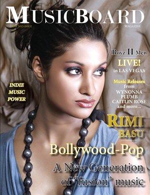 May 2013 MusicBoard Magazine